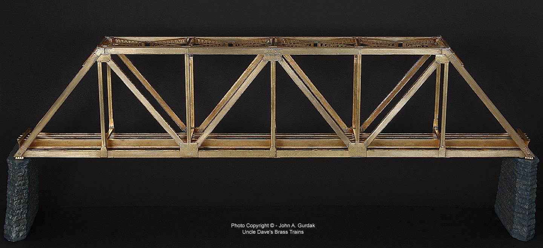 Pratt Truss Toothpick Bridge Pics Photos - Warren T...